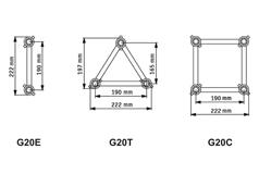 Structures G20 Poutres series deco
