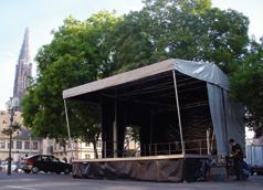 Scène Mobile Couverte Stagecar II