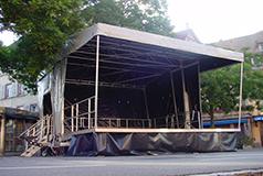 Scène Mobile Couverte Stagecar III